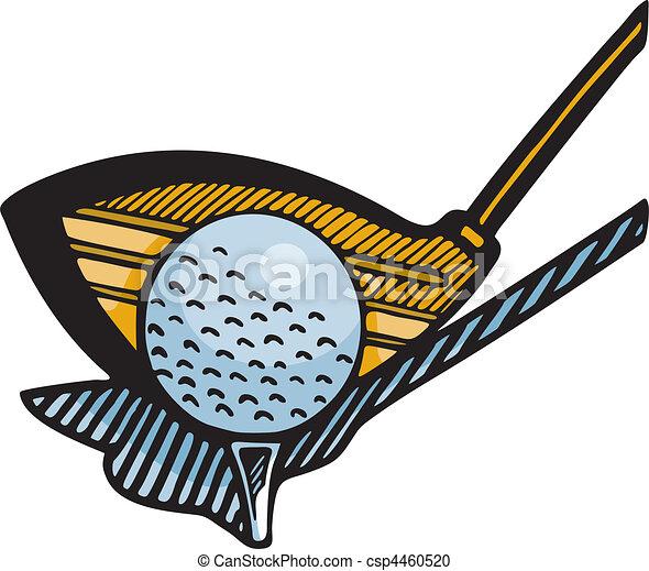 ゴルフ - csp4460520