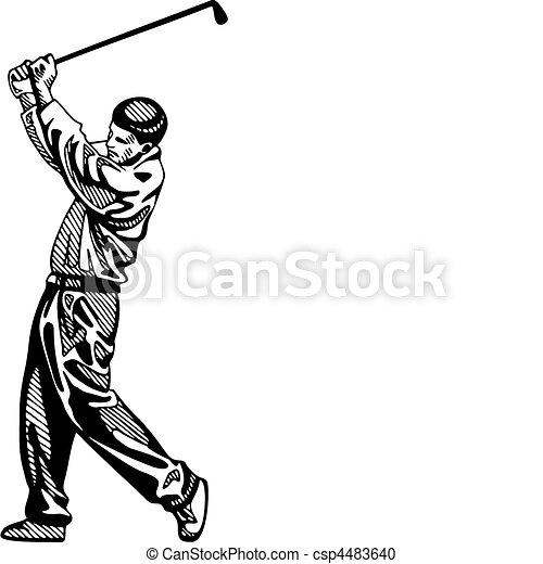 ゴルフ - csp4483640