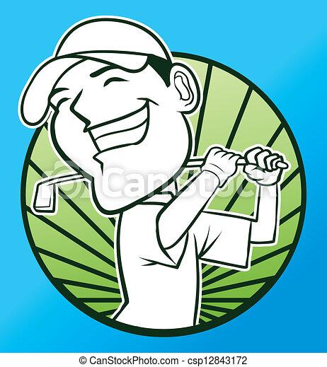 ゴルフ - csp12843172