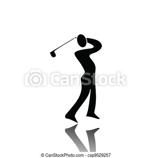 ゴルフ - csp9529257