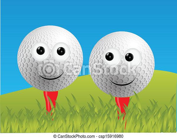ゴルフ - csp15916980