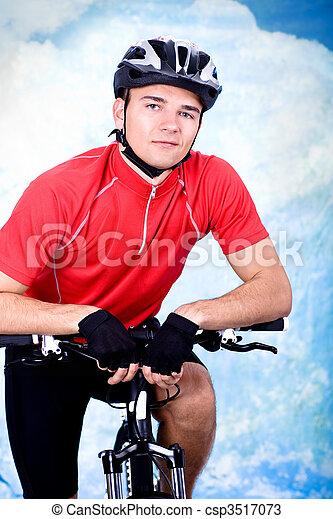 サイクリング, 人 - csp3517073