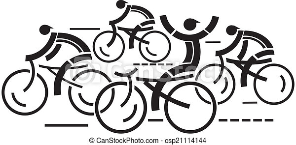 サイクリング, 競争 - csp21114144