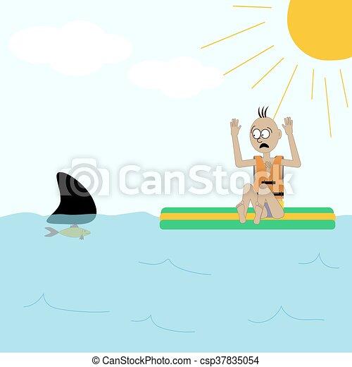 サメ 攻撃 イラスト サメ Illustration Fish イラスト 攻撃