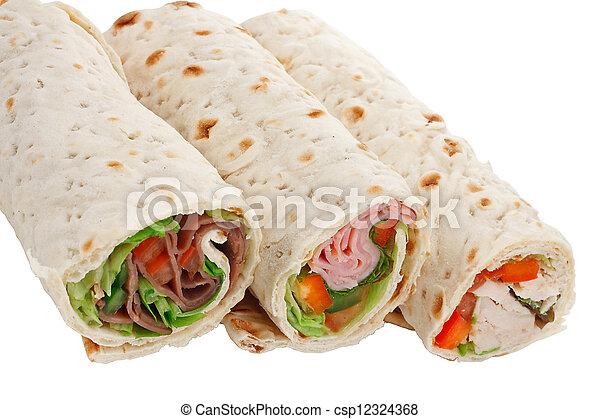サンドウィッチを包みなさい, ビュッフェ - csp12324368
