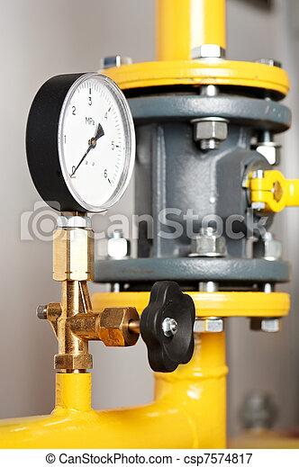 システム, equipments, 加熱, ボイラー 部屋 - csp7574817