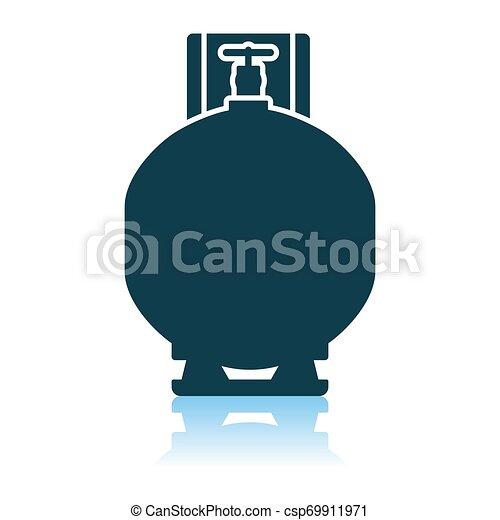 シリンダー, ガス, アイコン - csp69911971