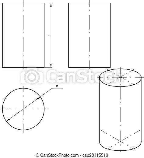 シリンダー - csp28115510