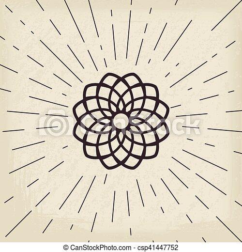 シンボル, アジア人, lotos - csp41447752