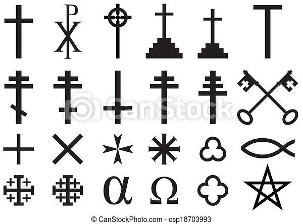 シンボル, キリスト教徒, 宗教 - csp18703993