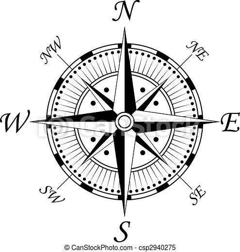 シンボル, コンパス - csp2940275