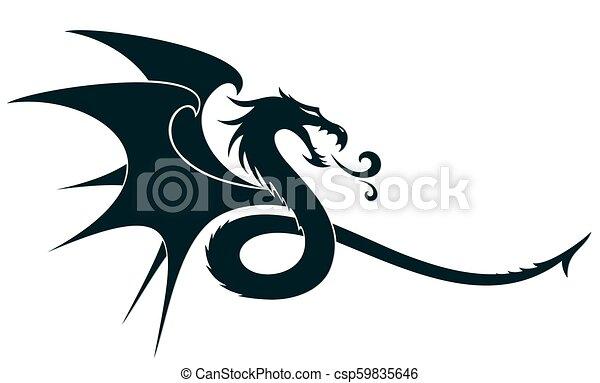 シンボル。, ドラゴン - csp59835646