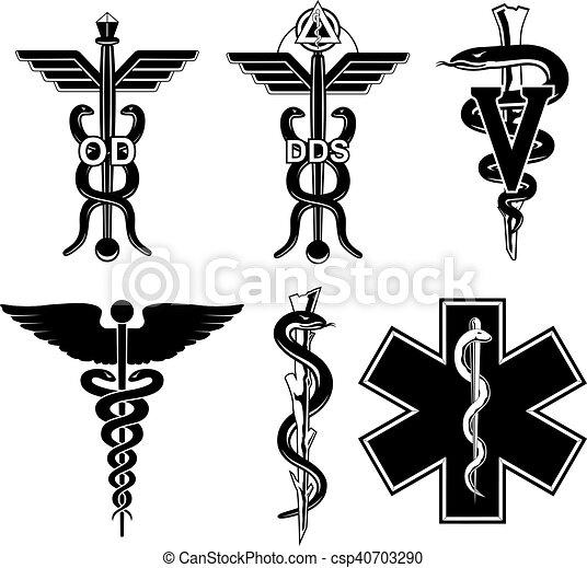 シンボル, 医学, グラフィック - csp40703290