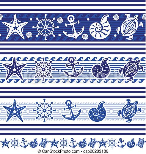 シンボル, 旗, 海, 海事 - csp20203180