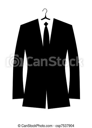 ジャケット, デザイン, あなたの, 人 - csp7537904