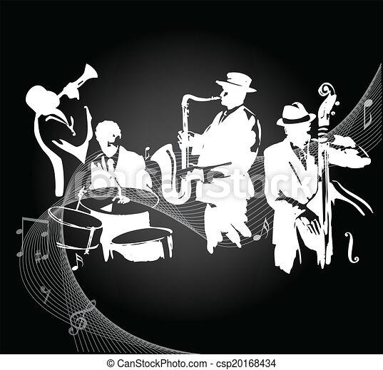 ジャズ・バンド - csp20168434