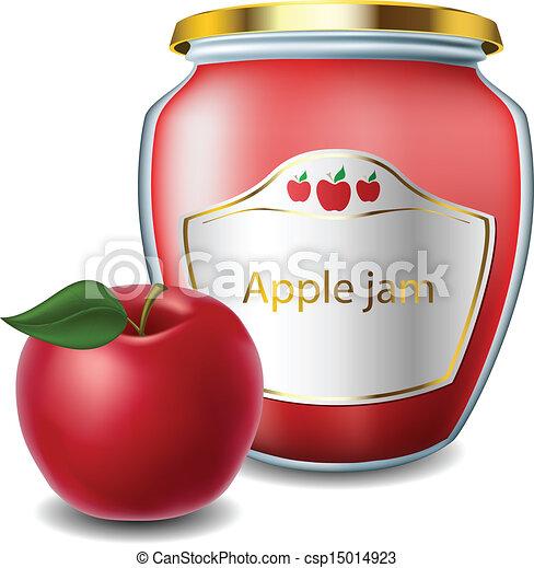 ジャムジャー, アップル - csp15014923
