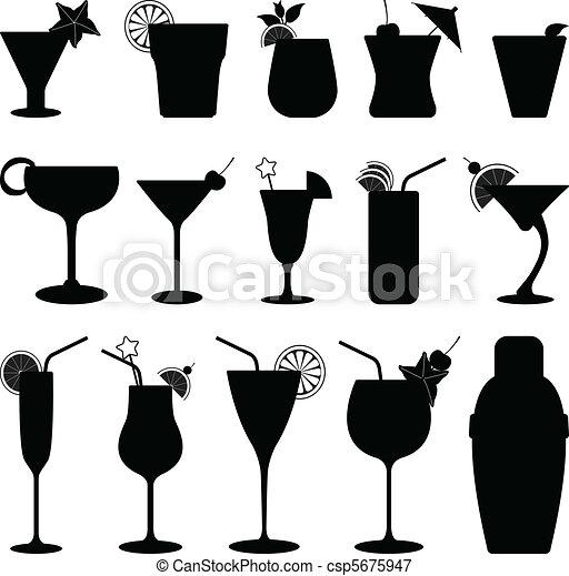 ジュース, フルーツカクテル, 飲みなさい - csp5675947