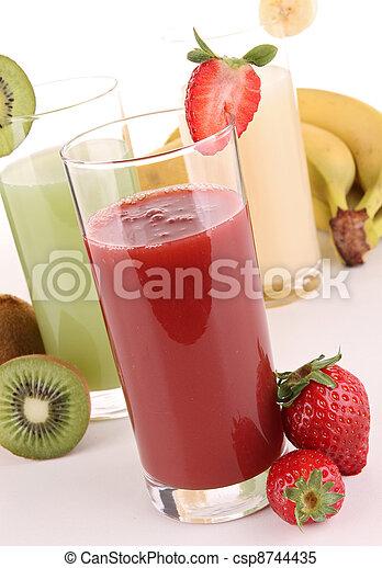 ジュース, フルーツ - csp8744435