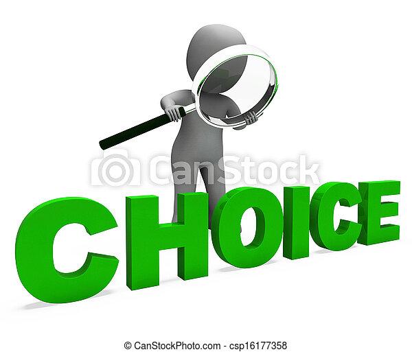 ジレンマ, 特徴, 選択, オプション, 選択, ∥あるいは∥, ショー - csp16177358