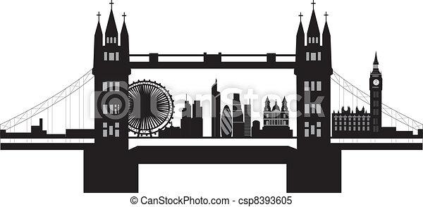 スカイライン, ロンドン - csp8393605
