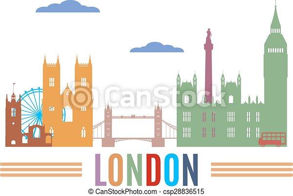 スカイライン, ロンドン - csp28836515