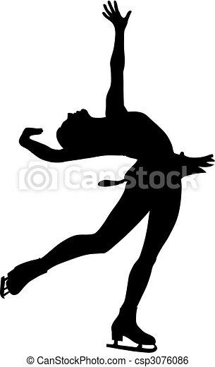 スケート, 数字 - csp3076086