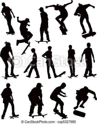スケート 板, コレクション - csp5327685