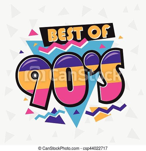 スタイル Illustration ベクトル 90 年代 Label 時間 パーティー