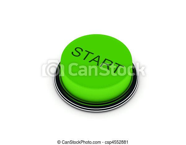 スタートボタン - csp4552881
