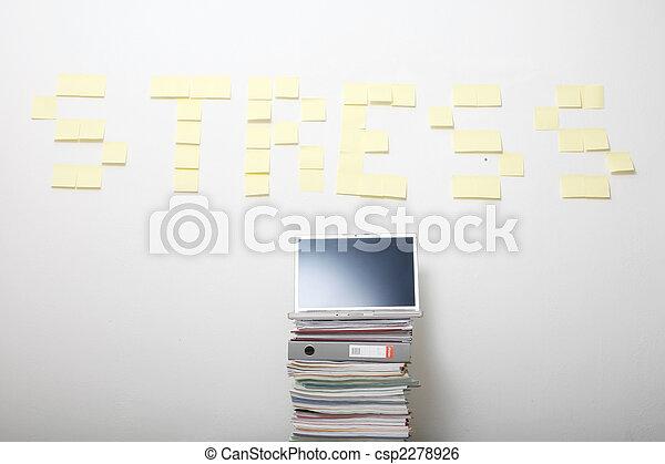 ストレス - csp2278926