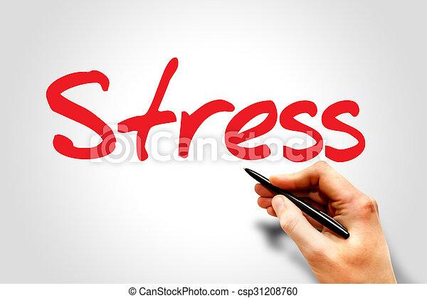 ストレス - csp31208760