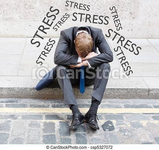 ストレス - csp5327072