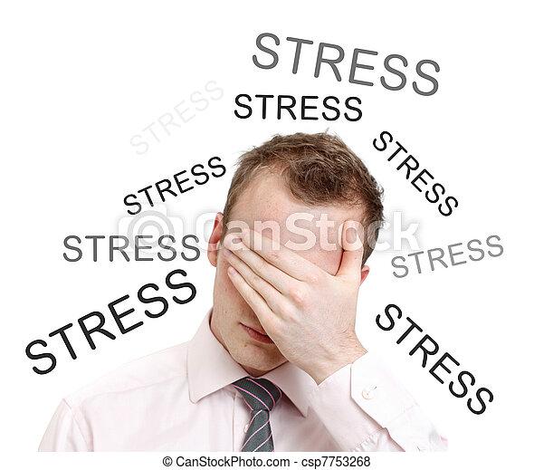 ストレス - csp7753268
