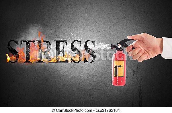 ストレス, 離れて - csp31762184