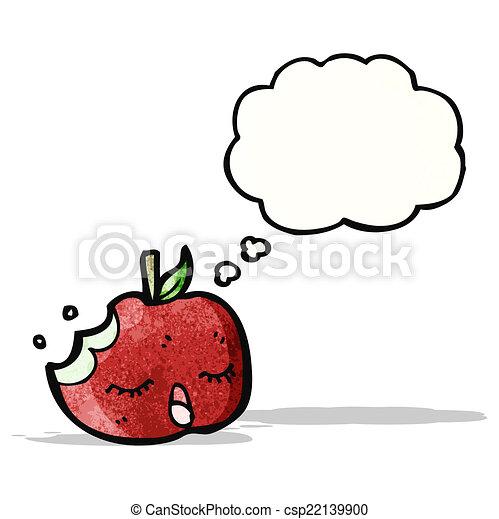 スピーチ泡, 漫画, アップル - csp22139900