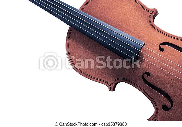 スペース, テキスト, 黄色, 執筆, 部分, 背景, バイオリン, 白 - csp35379380