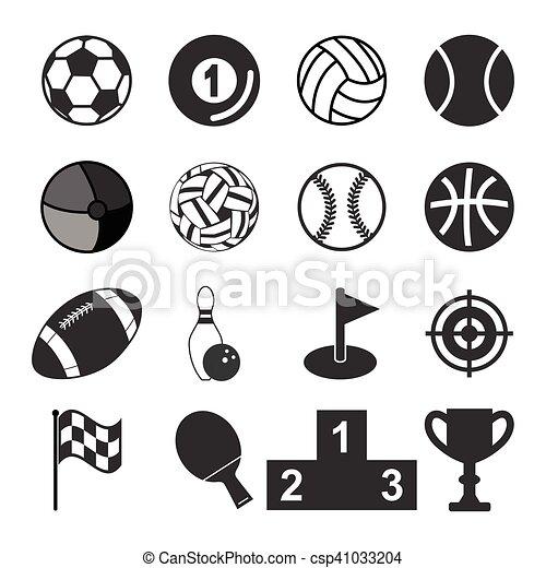 スポーツアイコン - csp41033204