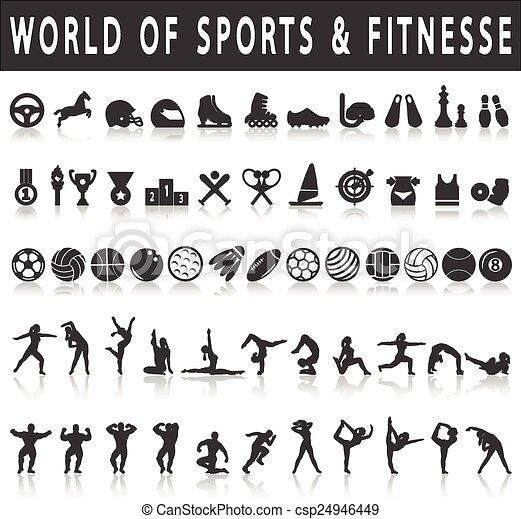 スポーツアイコン - csp24946449