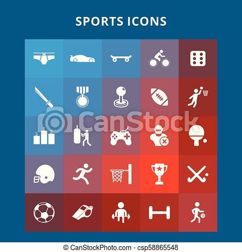 スポーツアイコン - csp58865548