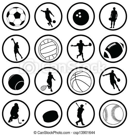 スポーツ, アイコン - csp13901644