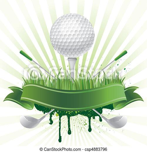 スポーツ, ゴルフ - csp4883796