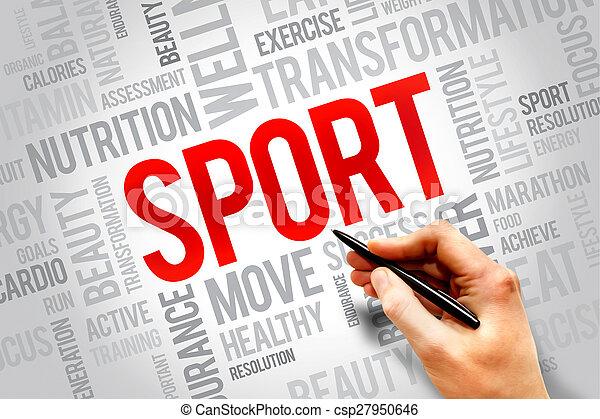 スポーツ - csp27950646