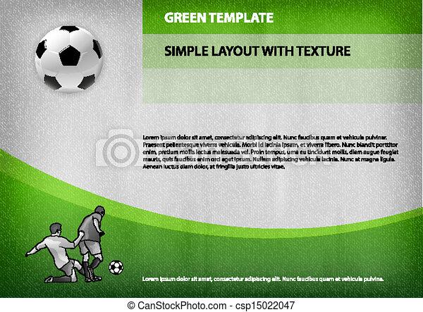 スポーツ, テンプレート - csp15022047