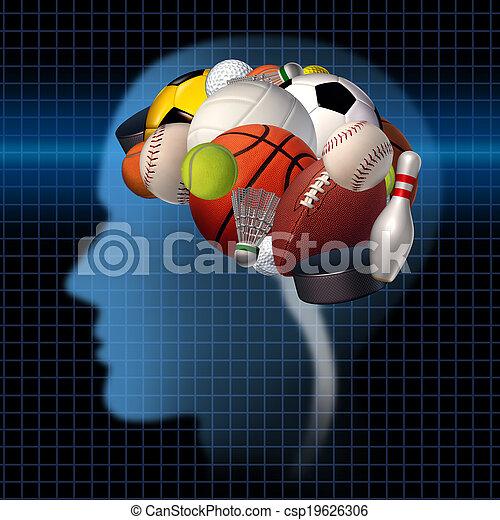 スポーツ, 心理学 - csp19626306