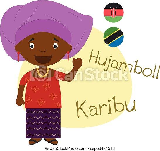 語 こんにちは スワヒリ スワヒリ語