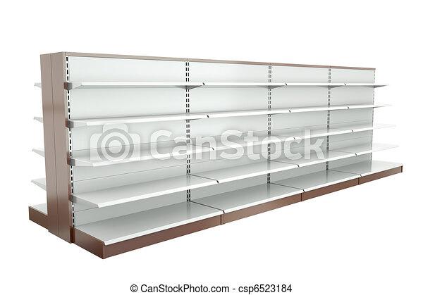 スーパーマーケット, 棚 - csp6523184