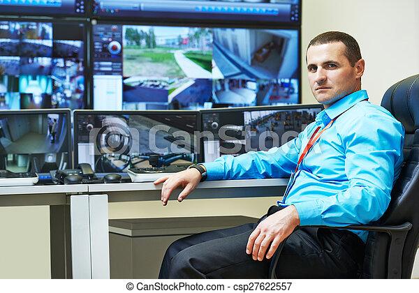 セキュリティー, ビデオ監視 - csp27622557