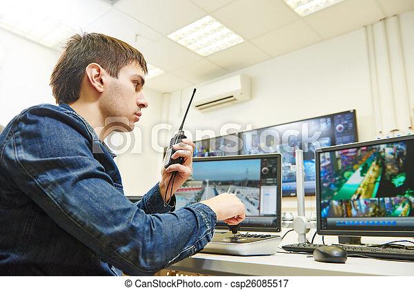 セキュリティー, ビデオ監視 - csp26085517
