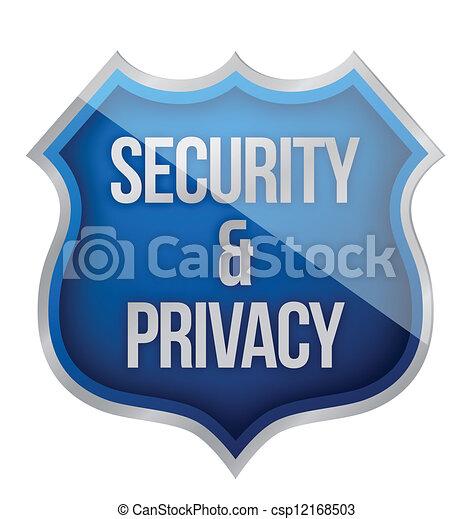 セキュリティー, 保護, プライバシー - csp12168503